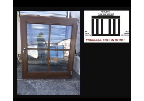 Wood window whit Thermo glass