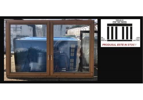 Wooden window double glazeed door H 172 x W 262 cm