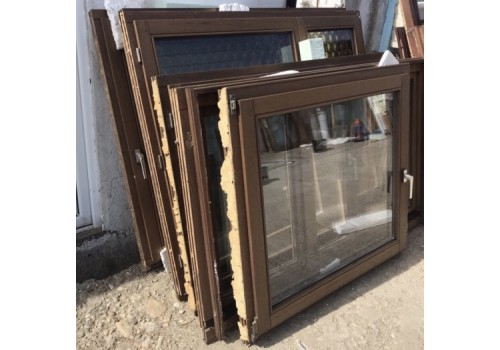 Wooden window double glazeed H 100 x W 108 cm