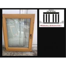 Wooden window double glazeed H 122 x W 89 cm