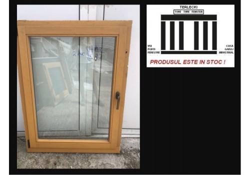 Wooden window double glazeed H 122 x W 89 cm