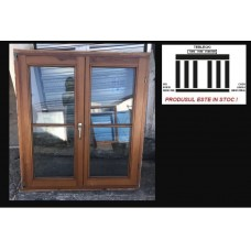 Wooden window double glazeed H 128 x W 113 cm