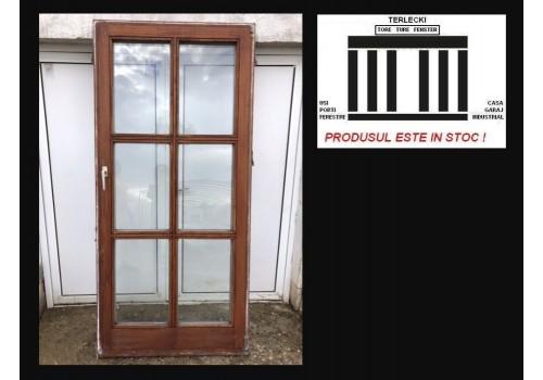 Terrace door double glazeed door H 209 x W 98 cm