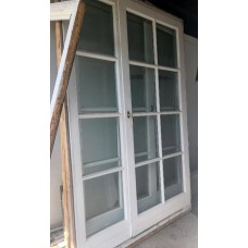Wood Terrace door double glazeed H 221 x W 141 cm