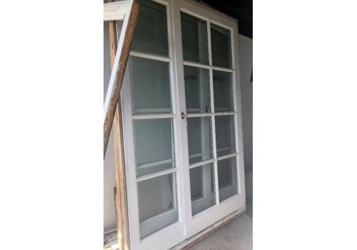 Wood Terrace door double glazeed H 221 x W 141 cm
