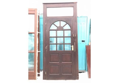 Wooden entrance door H 255 x W 115 cm